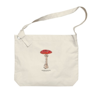 Amanita muscaria Big shoulder bags