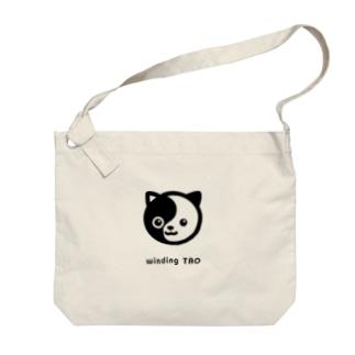 タオ猫みっちー Big shoulder bags