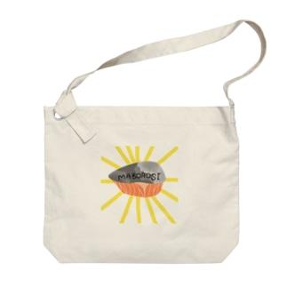 MABOROSIの鮭 Big shoulder bags