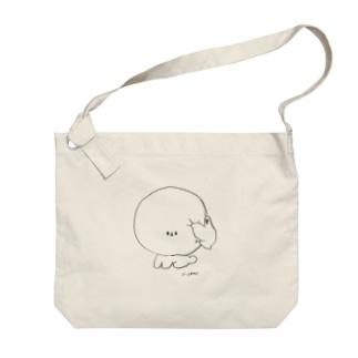 鳥の日課 Big shoulder bags