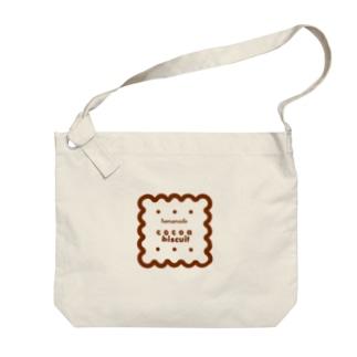 ココアビスケット Big shoulder bags