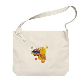 宝石の紅茶と金平糖 Big Shoulder Bag