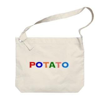 ポテイト Big shoulder bags