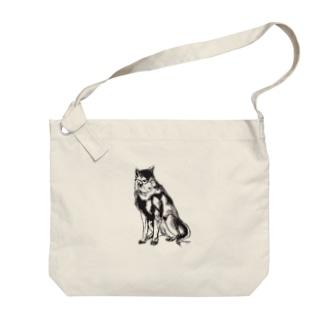 MEGANE-Dog. Big shoulder bags