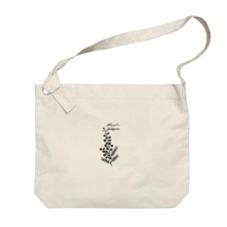 植物図鑑シリーズ…ミモザ Big shoulder bags