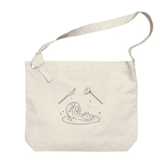 End of the Earth (kuro) Big shoulder bags