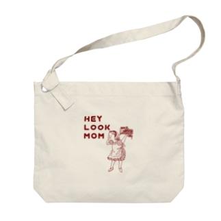 ヘイルックマム Big shoulder bags