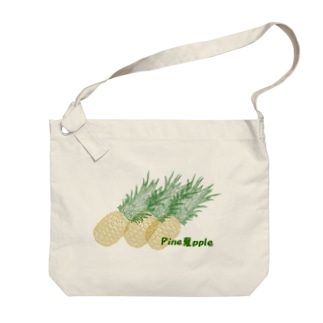 Pine夏pple Big shoulder bags