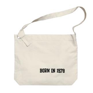 BORN IN 1978 b Big shoulder bags