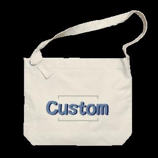 アメリカンベースのCustom Big shoulder bags
