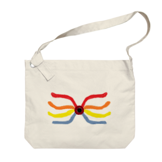 アメリカンベースのインパクト 絵画 Big shoulder bags
