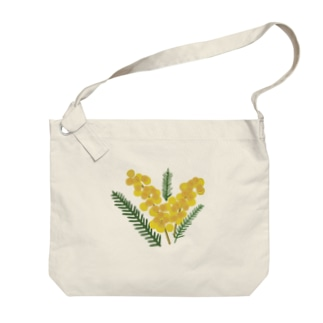 ミモザ🌿mimosa Big shoulder bags
