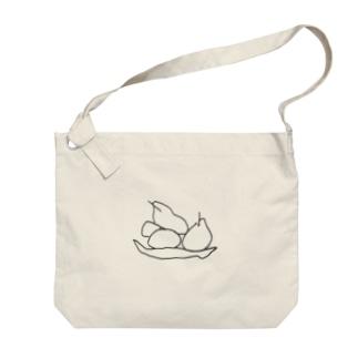 果物の静物画.2 Big shoulder bags