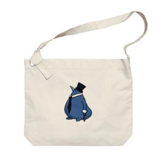 紳士あおとり Big shoulder bags