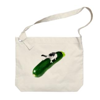 ズッキーニ Big shoulder bags