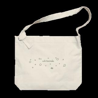 white sodaのwhitesoda_bk Big shoulder bags