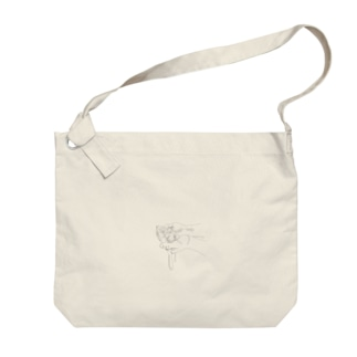 こぼれる Big shoulder bags
