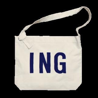 アメリカンベースのING Big shoulder bags