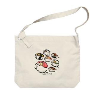 すしひつじ Big shoulder bags