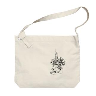 冠 Big shoulder bags