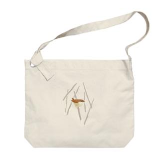 ヤブサメ Big shoulder bags