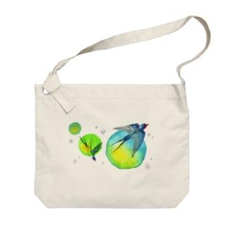 つばめ星 Big shoulder bags