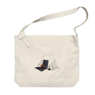 ネコチャン–おにぎり Big shoulder bags