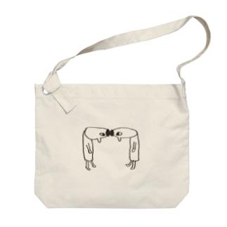 ごっつんこ Big shoulder bags