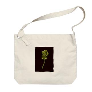 Flower bud Big shoulder bags