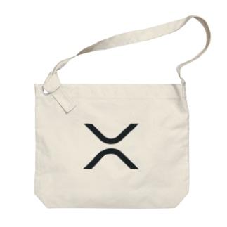 カマラオンテのXRP シンボル リップル ripple 仮想通貨 暗号通貨 アルトコイン Big shoulder bags