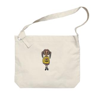 Usagisanのわいわいうさぎちゃん Big shoulder bags