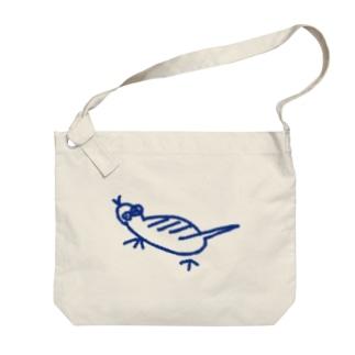 ツチノコマップのツチノコ Big shoulder bags