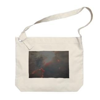 花火 Big shoulder bags