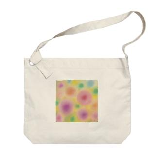 Fumiko💫のお花 Big shoulder bags