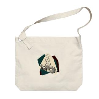バルーン Big shoulder bags