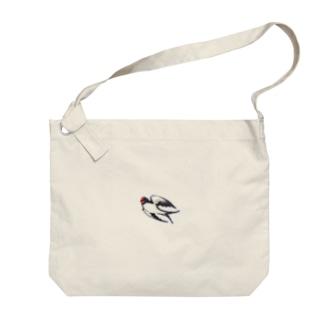つばめ Big shoulder bags