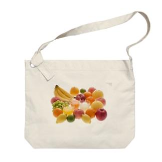 フルーツジュース Big shoulder bags