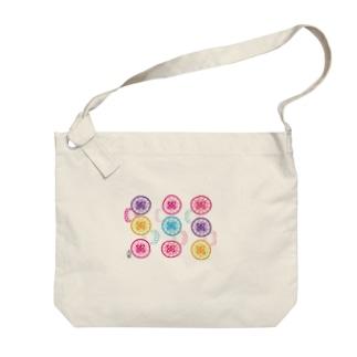 サガリバナ Big shoulder bags