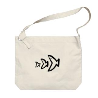 食物連鎖(さかな) Big shoulder bags