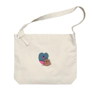強盗と人質 Big shoulder bags