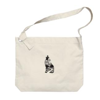 【狼】 by harumin Big shoulder bags