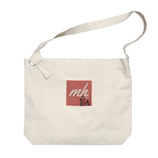 濵田茉莉奈mhロゴ(Everlasting ver.) Big shoulder bags