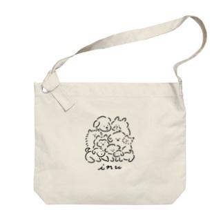 inu Big shoulder bags