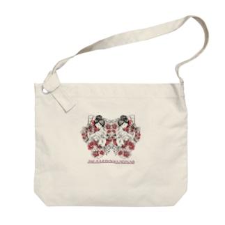 花魁 Big shoulder bags