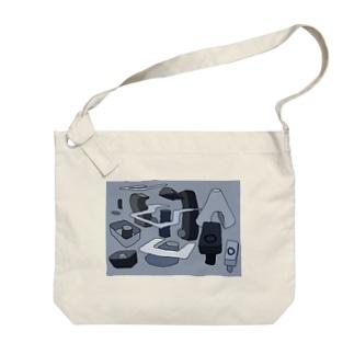メトロポリス Big shoulder bags