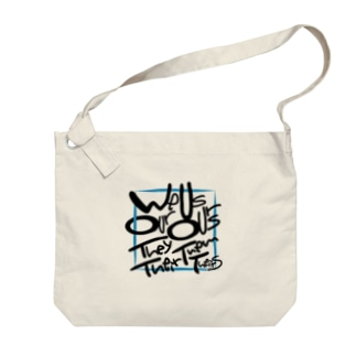 ウィーアワーアスアワーズ Big shoulder bags