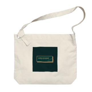 HIMA NYANKO【ロゴ】 Big shoulder bags