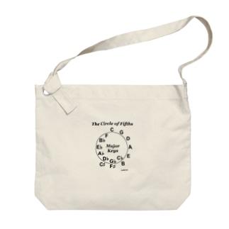【音楽理論】サークル・オブ・フィフス - Ver.02 Big shoulder bags