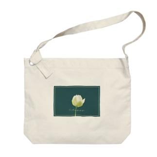 Happy flower 1 Big shoulder bags