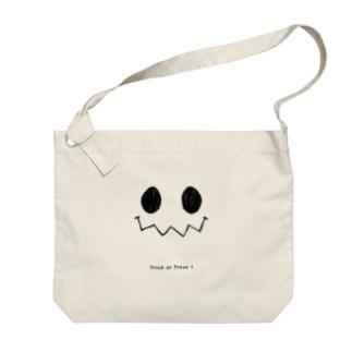 ハロウィンスマイル Big shoulder bags